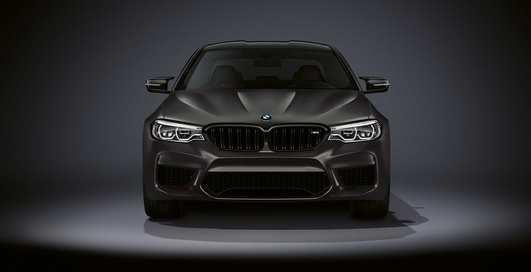 """""""Заряженный"""" BMW М5 к юбилею: мощнейший двигатель и много позолоты"""