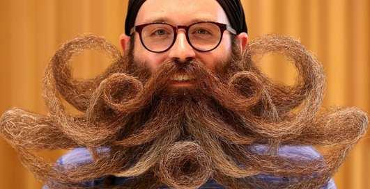 Самый бородатый чемпионат: в Антверпене прошел чемпионат мира по бороде и усам 2019