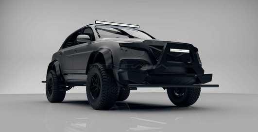 Технически - это танк: безумный тюнинг Bentley Bentayga (специально для украинских дорог?)
