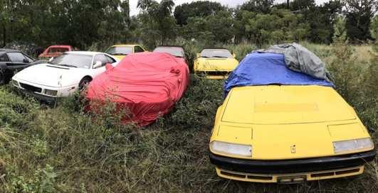 Ferrari, которые никому не нужны: в США нашли целое поле авто с грустной судьбой