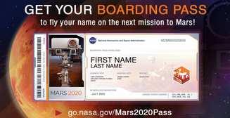 NASA предложило бесплатно отправиться на Марс в 2020. Правда, только на бумаге