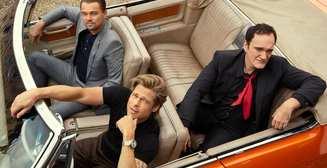 Брэд Питт, Леонардо Ди Каприо и Квентин Тарантино в фотосессии для Еsquire