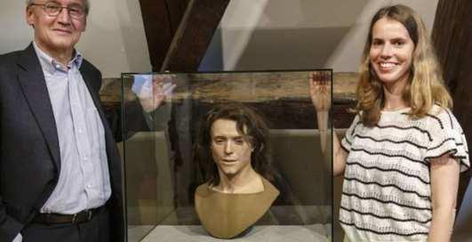 Как выглядели мужчины, жившие 1300 лет назад