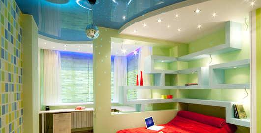 Как сделать светящийся потолок в доме своими руками