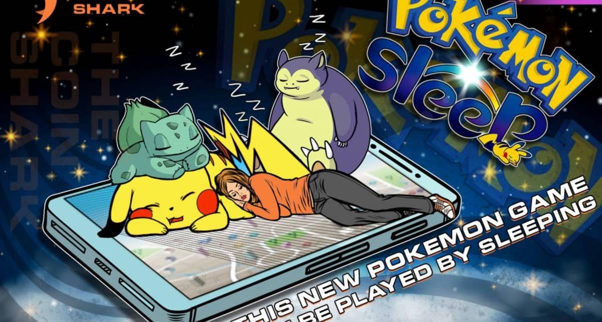 Сон как развлечение: Pokemon Sleep - игра, в которой нужно спать