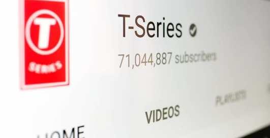 Абсолютный рекорд: индийский канал на Youtube собрал наибольшее количество подписчиков за всю историю