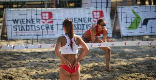 Как научиться играть в пляжный волейбол?