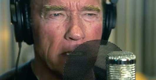 Рэп-терминатор: Шварценеггер зачитал пару куплетов в клипе