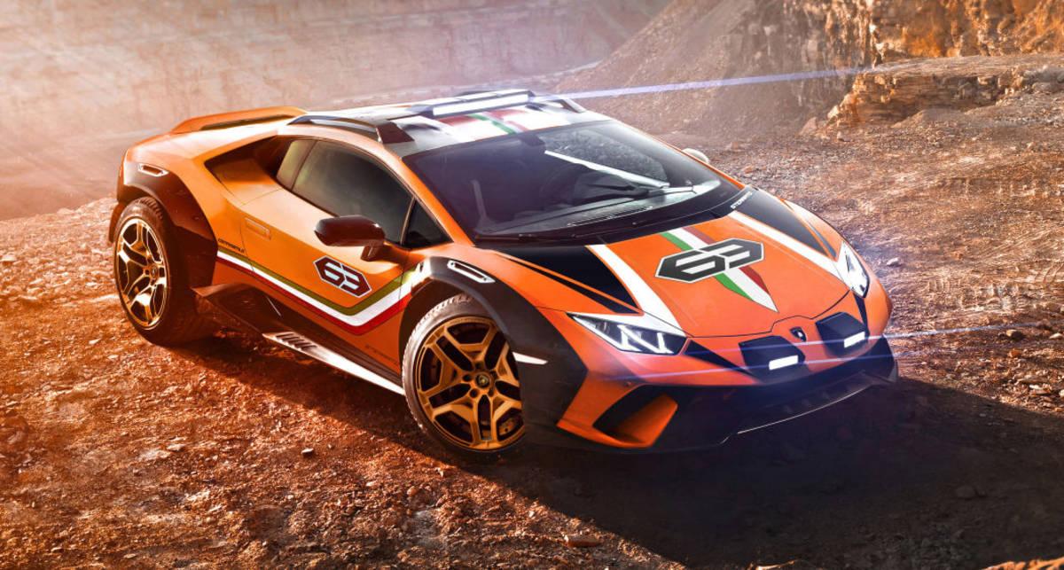 Дитя суперкара и внедорожника: Lamborghini показала новый Huracan Sterrato