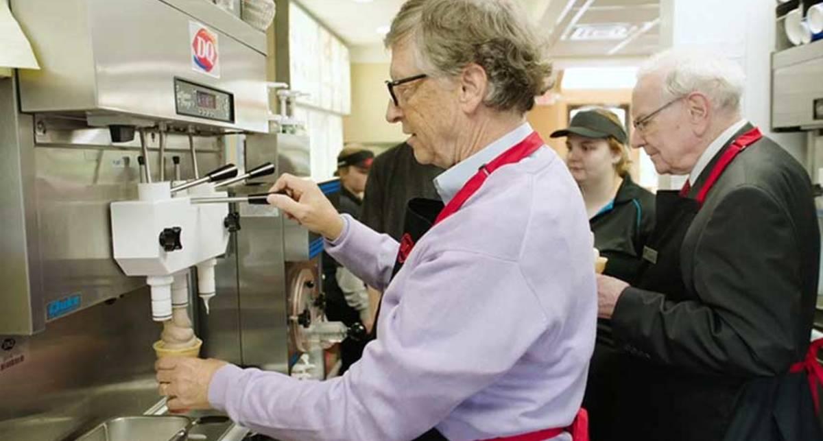 Свободная касса! Два миллиардера поработали денек в закусочной