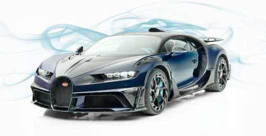 Уникальный тюнингованный Bugatti Chiron от ателье Mansory выставили на продажу за более $4 миллиона