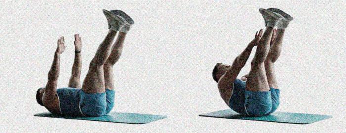 Тянись вверх за счет скручивания, а не вытягиванием шеи