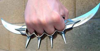 Кастет и нож: 4 предмета, которыми запрещено обороняться