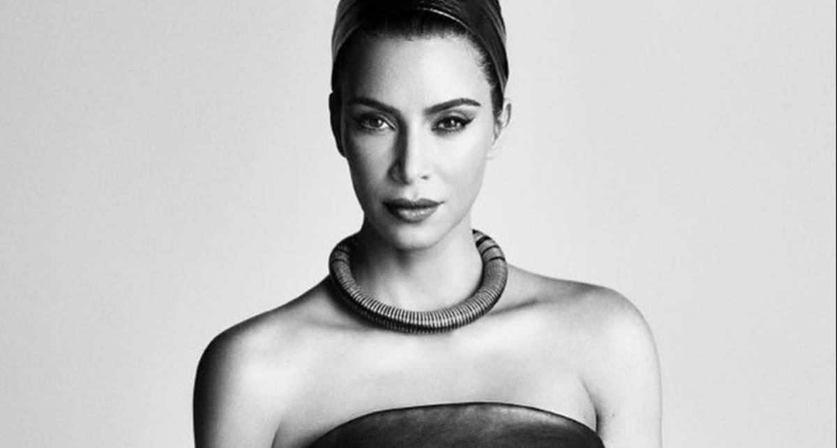 Космически-откровенно: Ким Кардашьян снялась для японского Vogue в необычных образах