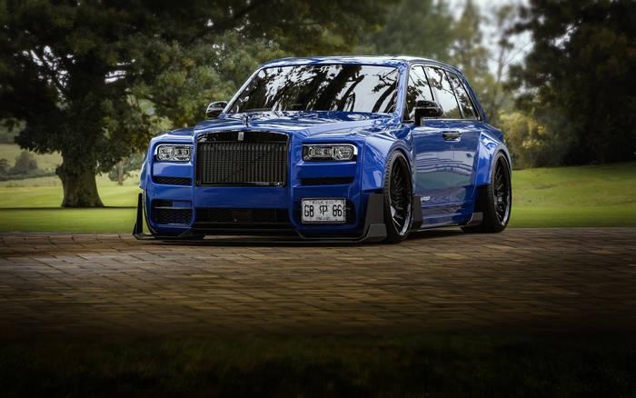 Rolls-Royce «Slammed Cullinan»