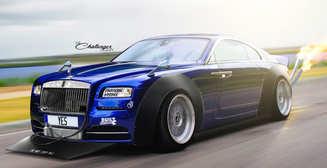 Тюнинг Rolls-Royce: 15 беспощадных издевательств