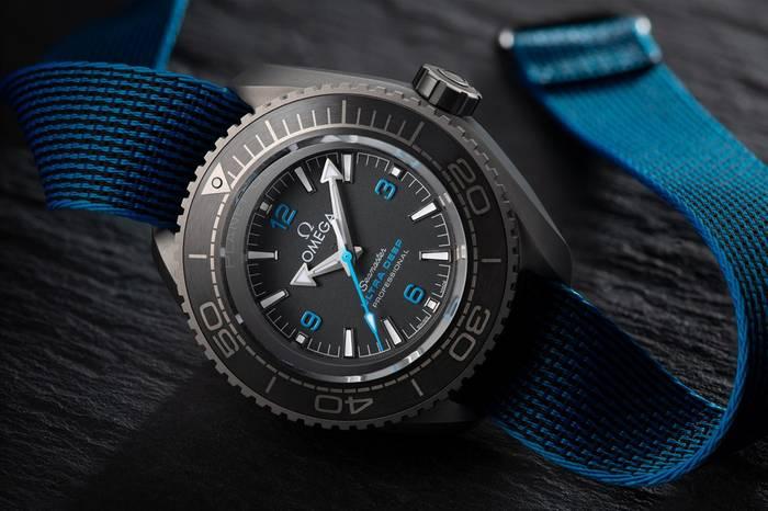Omega Seamaster Planet Ocean Ultra Deep Professional — хронограф, в котором можно опускаться на глубину 15 000 метров