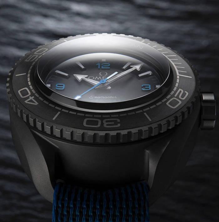 Циферблат Omega Seamaster Planet Ocean Ultra Deep Professional покрыт сапфировым стеклом