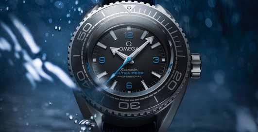 Omega Seamaster Planet Ocean Ultra Deep Professional: часы, нырявшие на дно Марианской впадины