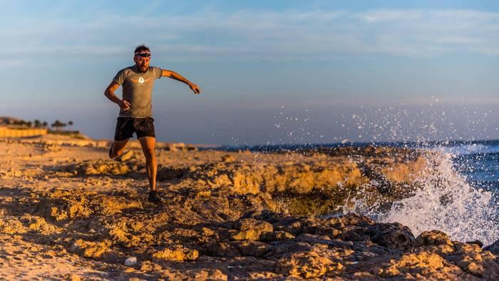 Восточная Пустыня, Египет. Кристиан Шистер. Типичная утренняя пробежка