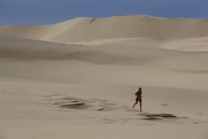 Ньюкасл, Австралия. Стью Адамс, победительница Dune Dusters Race