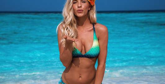 Красотка дня: модель и путешественница Аманда Страчан