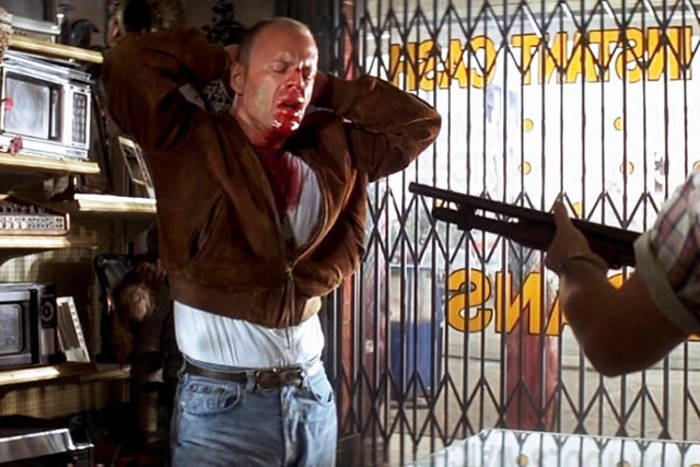 Кадр из фильма «Криминальное чтиво»
