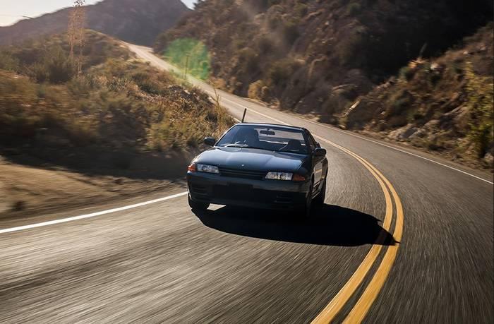 Редкий Skyline GT-R R32