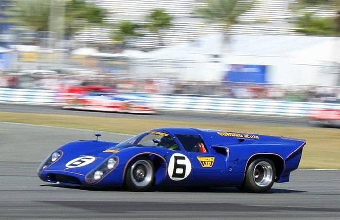 Гоночный автомобиль Penske Lola. Его кража лишила команду возможности участвовать в «24 часах Ле-Мана» в 1969 году