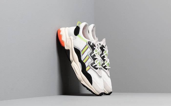 adidas Originals Ozweego Solar Green / Black — $115