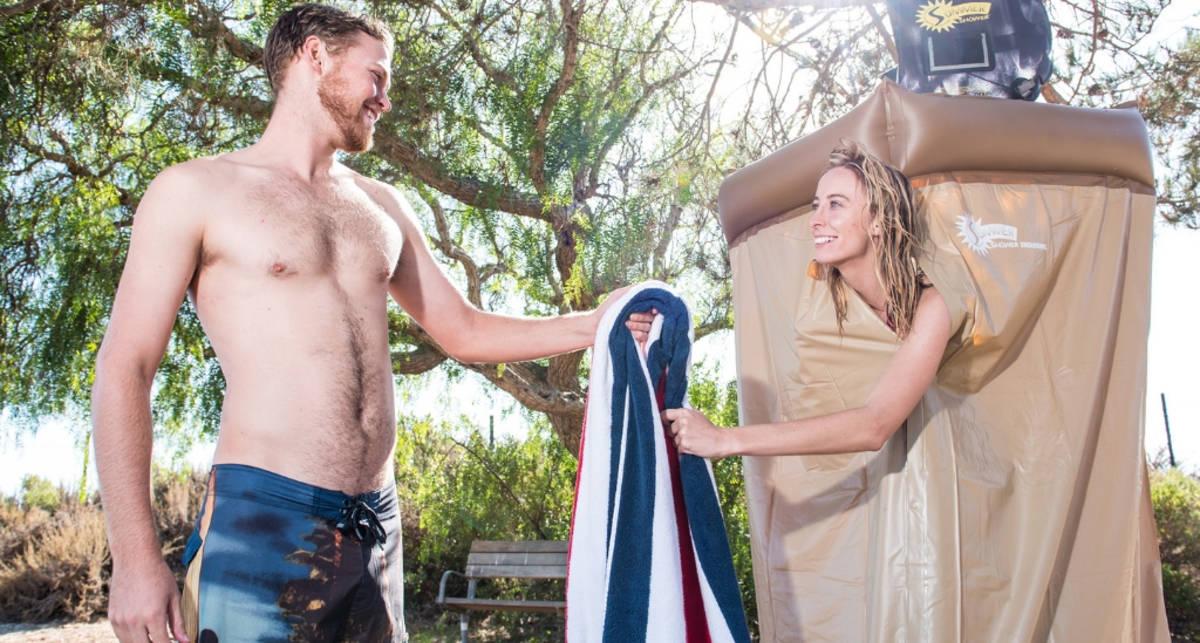 Как самостоятельно сделать летний душ: мужские советы