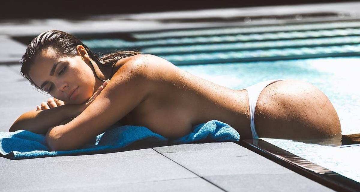 Красотка дня: сочная модель, манекенщица и бьюти-блогер Надин Миранда