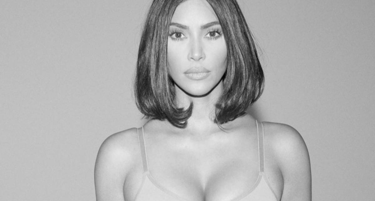 Аппетитный фоторобот: Ким Кардашьян для глянца разделась до белья