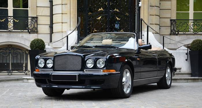 Bentley Azure — самый желанный и роскошный кабриолет 1990-х