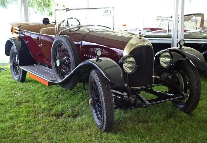 70-сильный 3-литровый Bentley 3L. Победитель в классе Супер Спорт