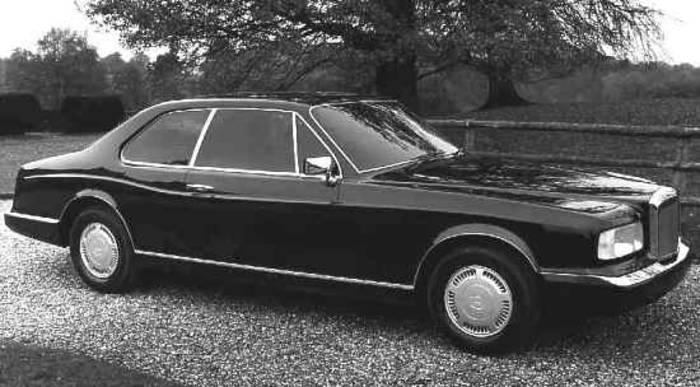 Bentley Project 90. Машина, которая легла в основу Continental R