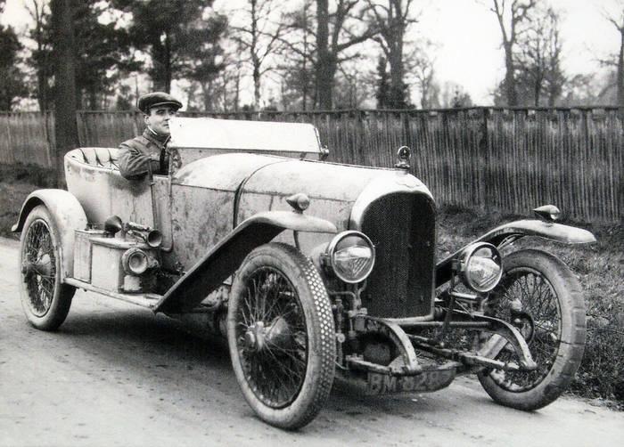 Bentley EXP — один из первых Bentley. Год 1919