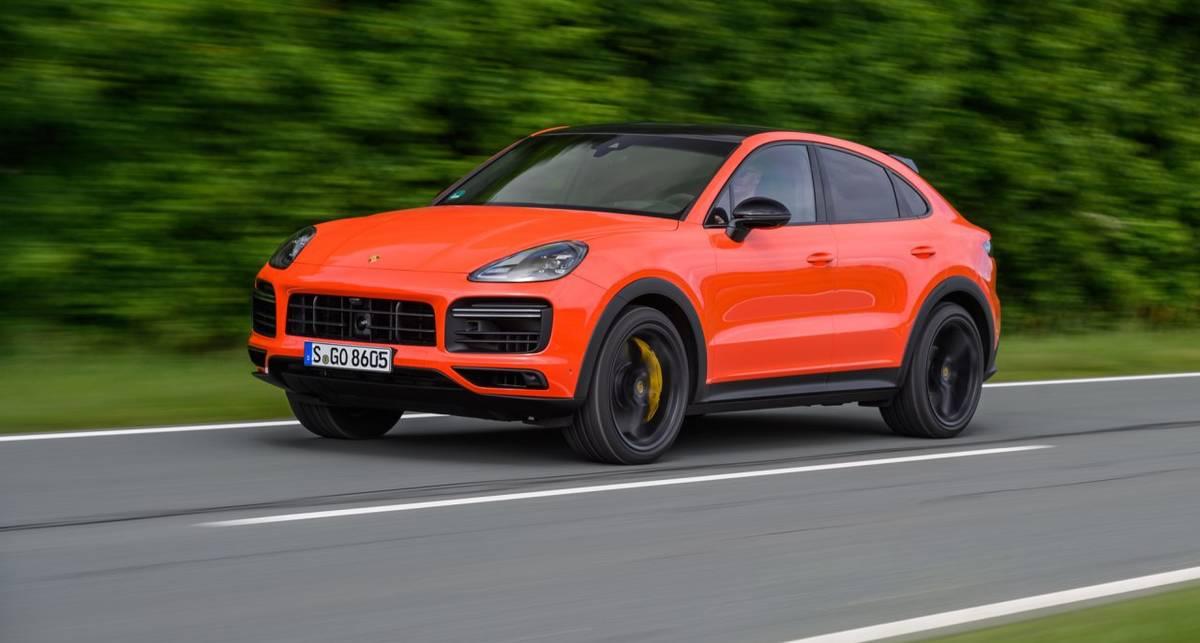 Что будет, если Porsche Cayenne Coupe разогнать до 300 км/ч?