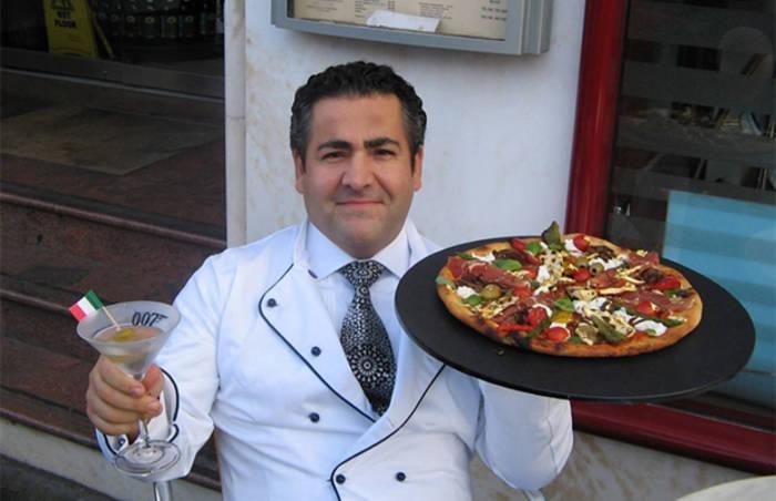 """Самая дорогая пицца """"роял 007"""""""