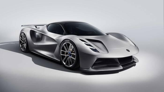 Новый Lotus Evija - самый мощный электрокар в истории