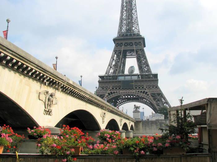 Йенский мост, Париж, Франция