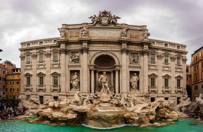 Фонтан Треви, Рим, Италия