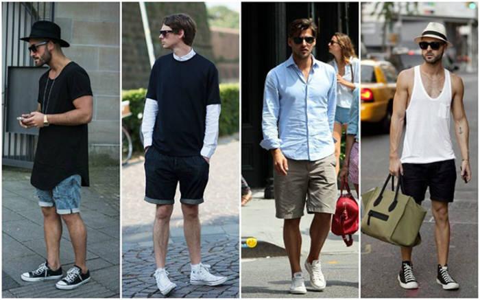Кеды и кроссовки - любимая мужская обувь для лета