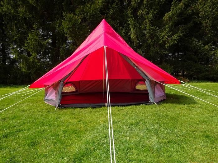 Убедись, что умеешь ставить палатку