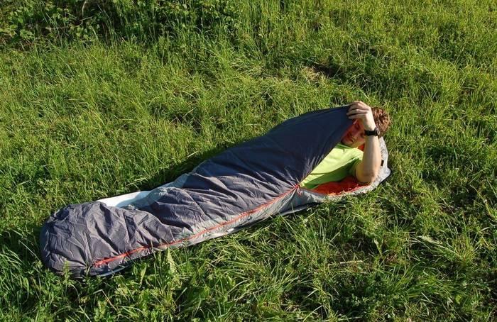 Подбирай спальный мешок в соответствие условиям, в которых собрался ночевать