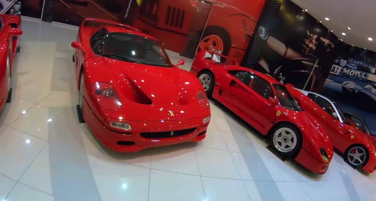 Гараж на миллиард: как выглядит самая богатая коллекция автомобилей?