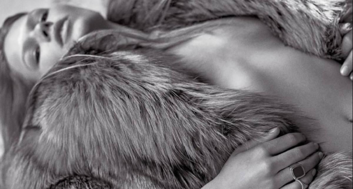 Красотка дня: немецкая топ-модель Анна Эверс