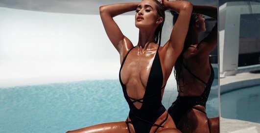 Красотка дня: звезда Playboy и сексуальная блондинка Кира Транструм