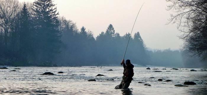 Вне зависимости от погоды, выбирайте правильное место для рыбалки
