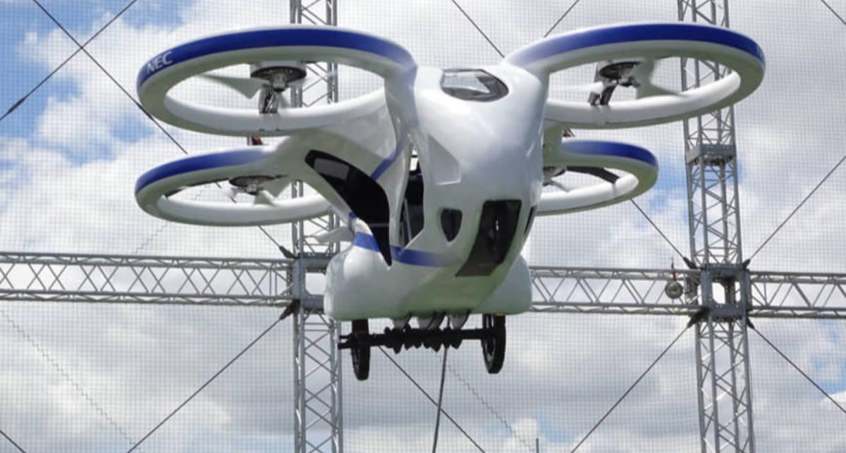 Будущее наступило: японцы протестировали летающие автомобили
